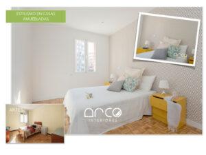 Home Staging Dormitorio Alquiler Piso