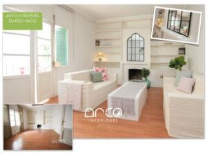 Venta Piso Home Staging Muebles Carton